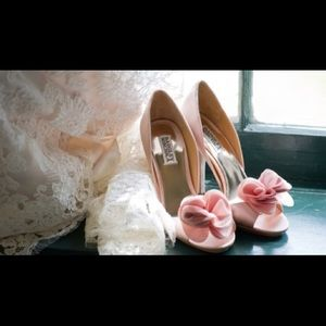 Badgley Mishka Ginseng Wedding Shoes